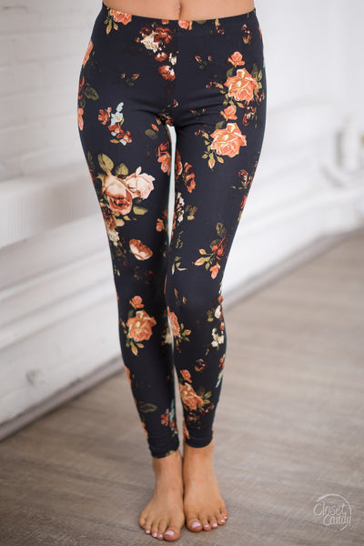 Think Of Me Floral Leggings