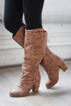 Sole Searching Boots - Tan