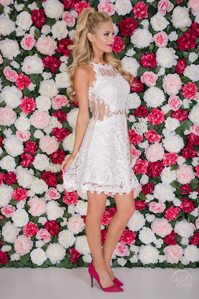 Heart Stopping Dress - White