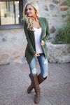 The Nearness of You Cardigan - cute olive cardigan, fall style, Closet Candy Boutique 7