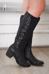 good directions buckle boots black