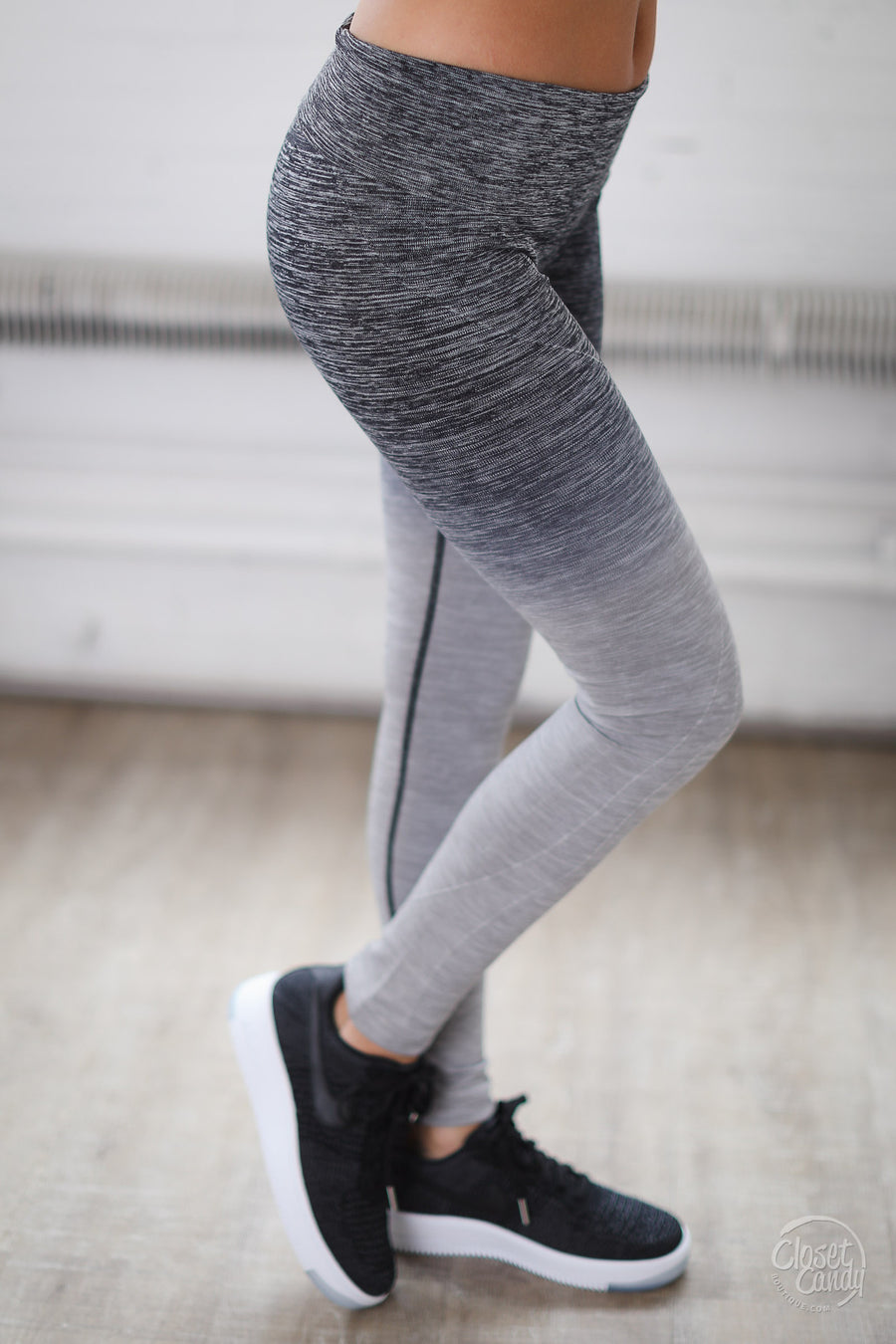 Back For More Ombre Athletic Leggings