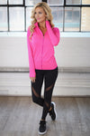 My Best Version Athletic Leggings - black mesh workout leggings, front, Closet Candy Boutique 3