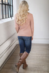 Main Attraction Sweater - Blush
