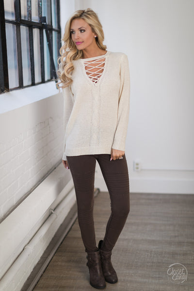 Main Attraction Sweater - Natural