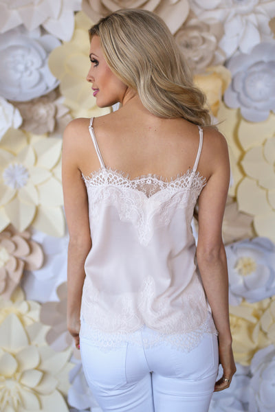 Lily of the Valley Cami - Cream