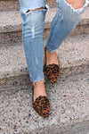 Back To The City Loafers - Leopard print women's slip-on flats, Closet Candy Boutique 3