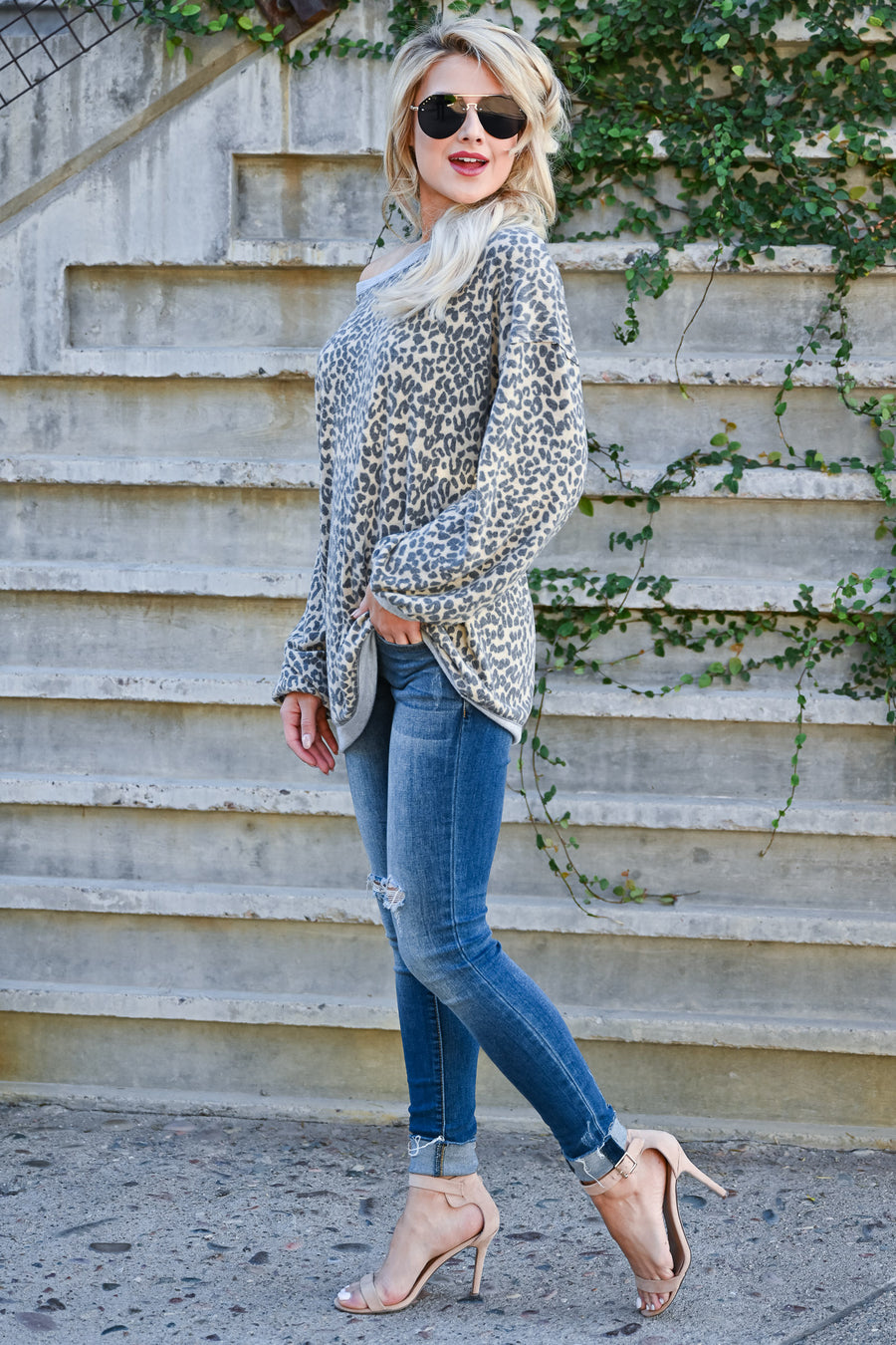Without Limits Top - Leopard