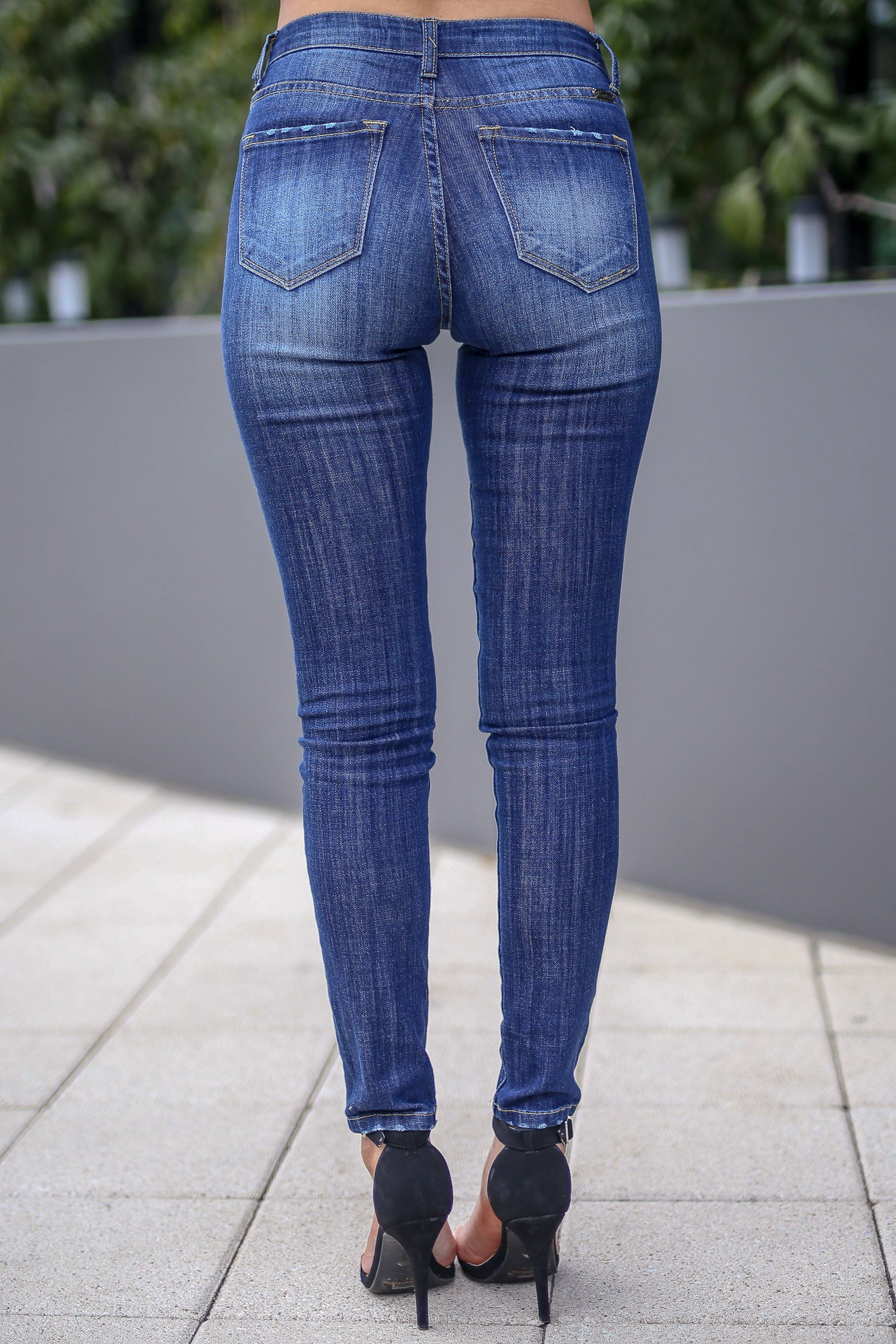 Kan Can Classic Skinny Jeans Rachel Wash Closet Candy Boutique
