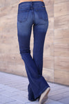KAN CAN Bootcut Jeans - Charlotte Wash solid bootcut jeans, Closet Candy Boutique 3