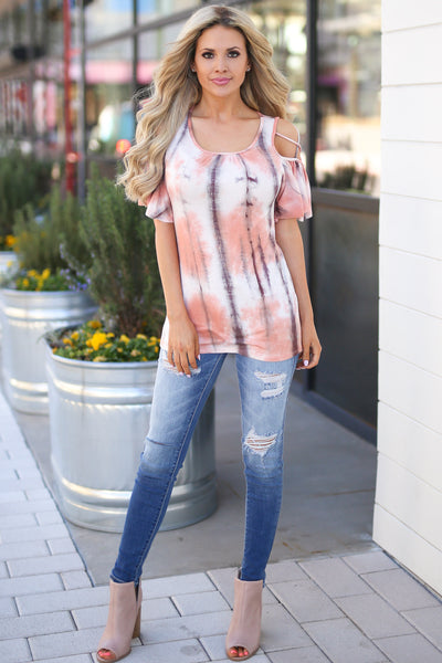 KAN CAN Distressed Skinny Jeans - Casey Wash distressed medium wash jeans, outfit, Closet Candy Boutique