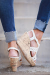 Best of You Wedges - Cream