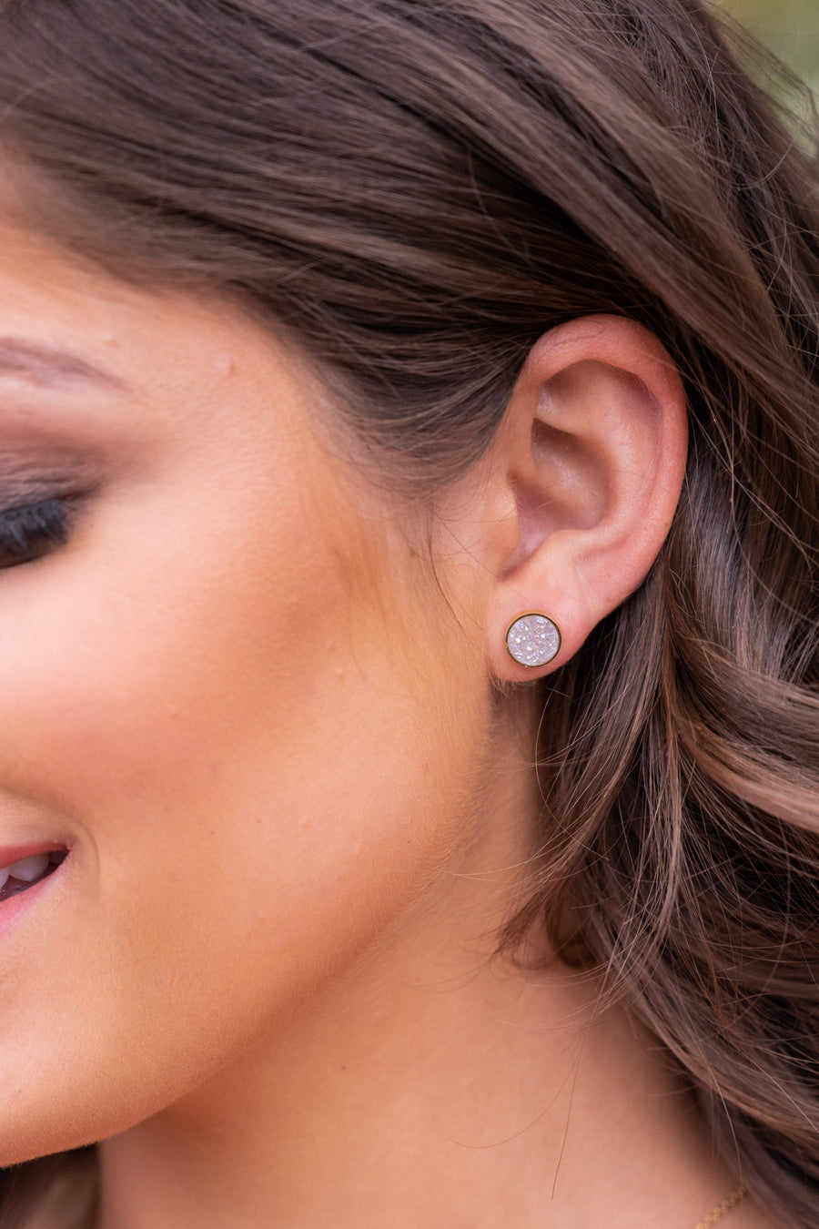 Hey There, Stud Earrings - Opal women's jewelry, Closet Candy Boutique 1