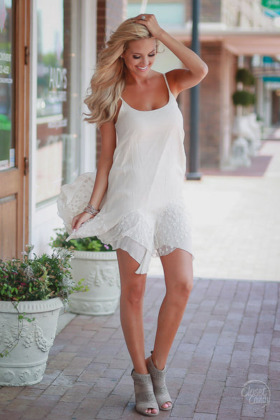 Layer Up Tunic Dress - Ivory