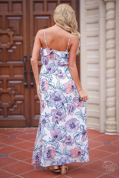 Closet Candy Boutique, trendy women's dresses, cute dress, floral maxi dress