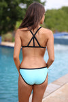 Boardwalk Belle Bikini - Aqua