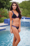 Sea Seeker Crochet Bikini - Black