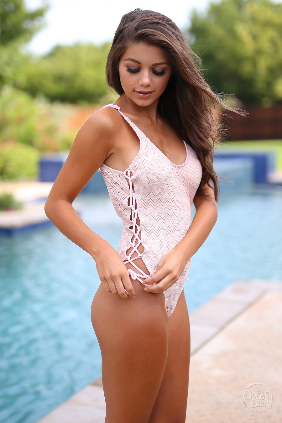 closet candy boutique cute trendy fashion swimsuit swim