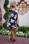 Closet Candy Boutique - side view of cute floral dress, sundress, summer style
