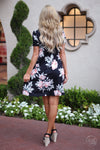 Closet Candy Boutique - back of cute floral dress, sundress, summer style