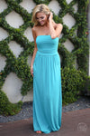 Beat of My Heart Maxi Dress - Jade - Cute Dress by Closet Candy Boutique - Front