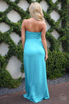 Beat of My Heart Maxi Dress - Jade - Cute Dress by Closet Candy Boutique - Back