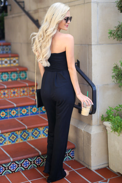 Hot in Houston Jumper - Black women's trendy jumpsuit closet candy boutique 4