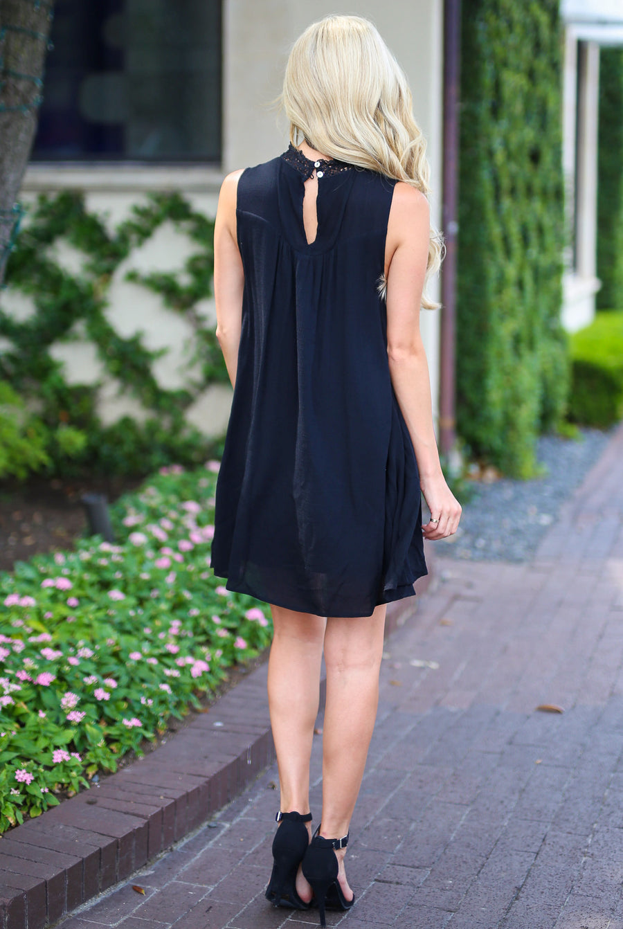 Something Special Dress - Black