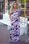 Closet Candy Boutique - cute floral maxi dress for spring and summer