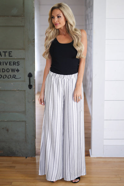 Still Searching Palazzo Pants womens wide leg pants closet candy boutique