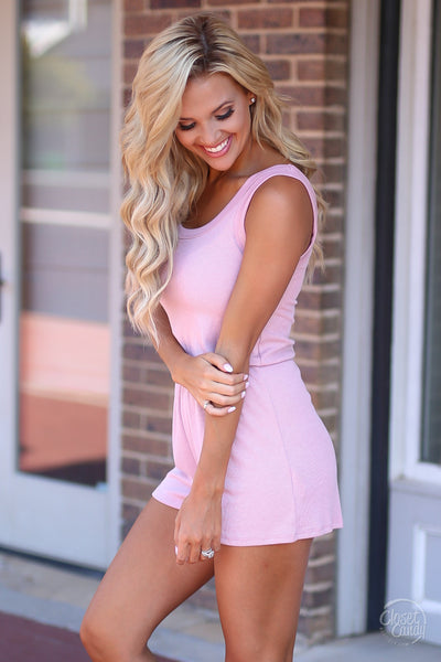 Closet Candy Boutique - cute casual romper, everyday outfit, tank romper