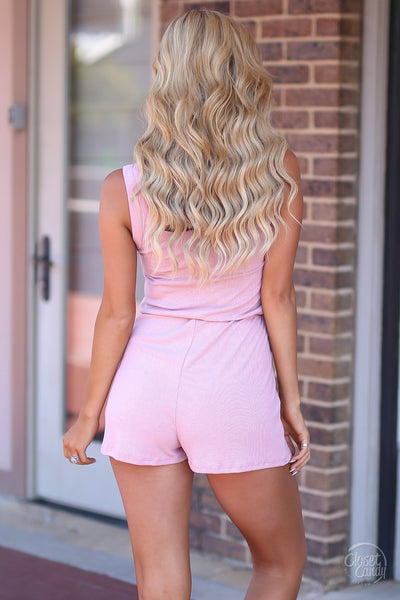 Closet Candy Boutique - cute casual romper, everyday outfit, tank romper, back