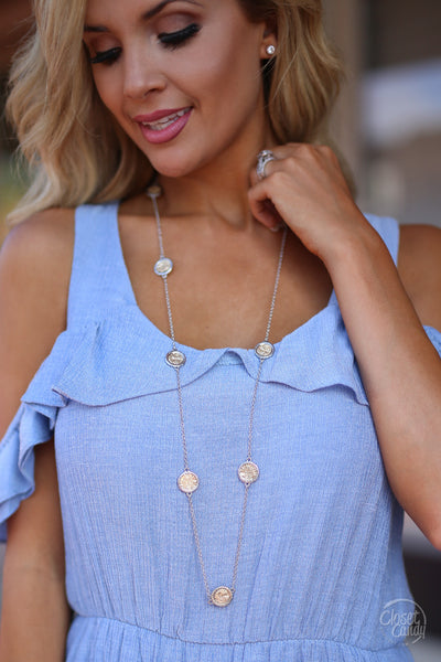 Closet Candy Boutique - trendy long necklace, gold and silver jewelry