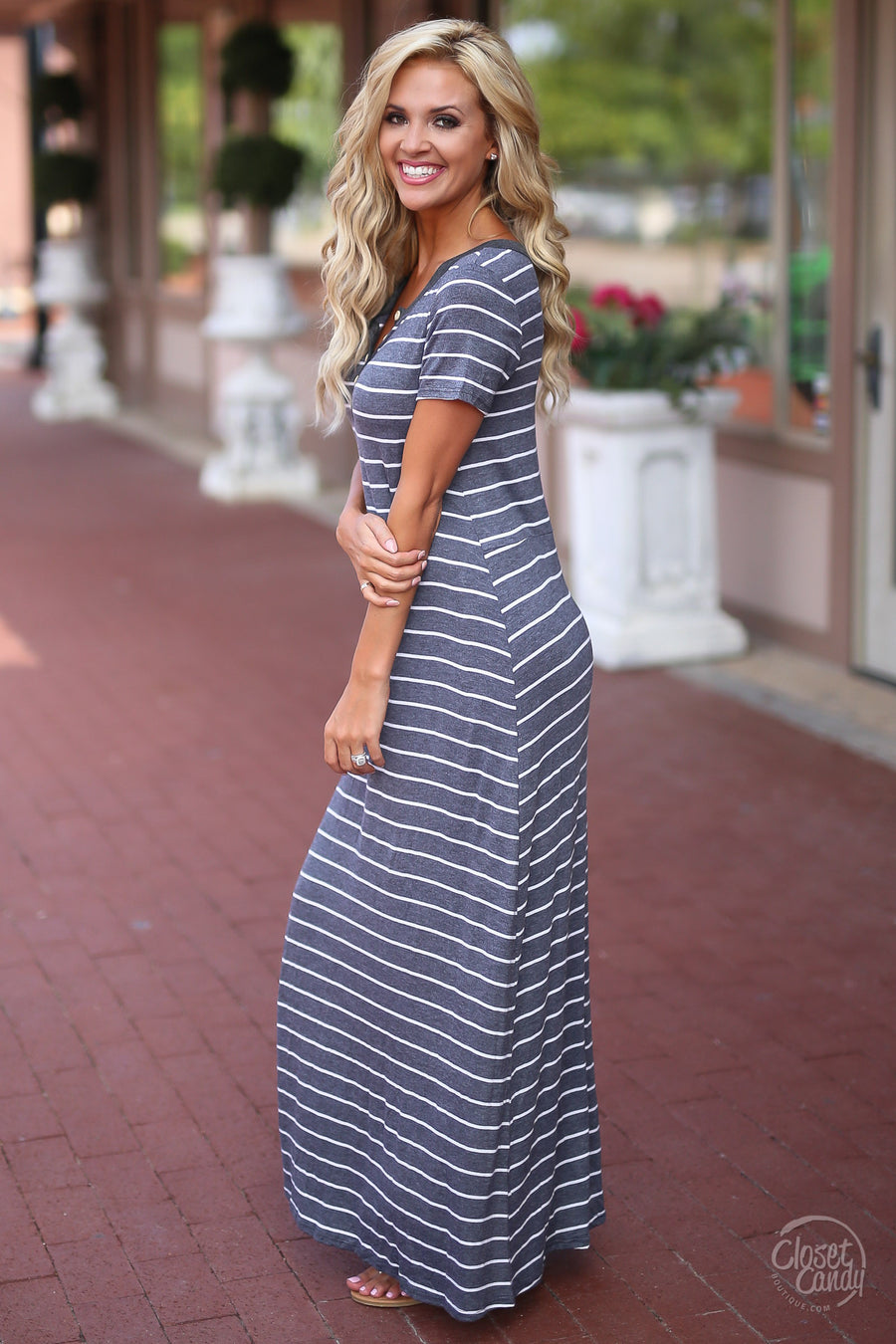 Closet Candy Boutique - cute stripe maxi dress, striped dresses, long dress for spring and summer