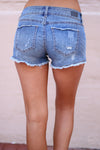 Closet Candy Boutique - cute casual denim cutoff shorts, back pockets