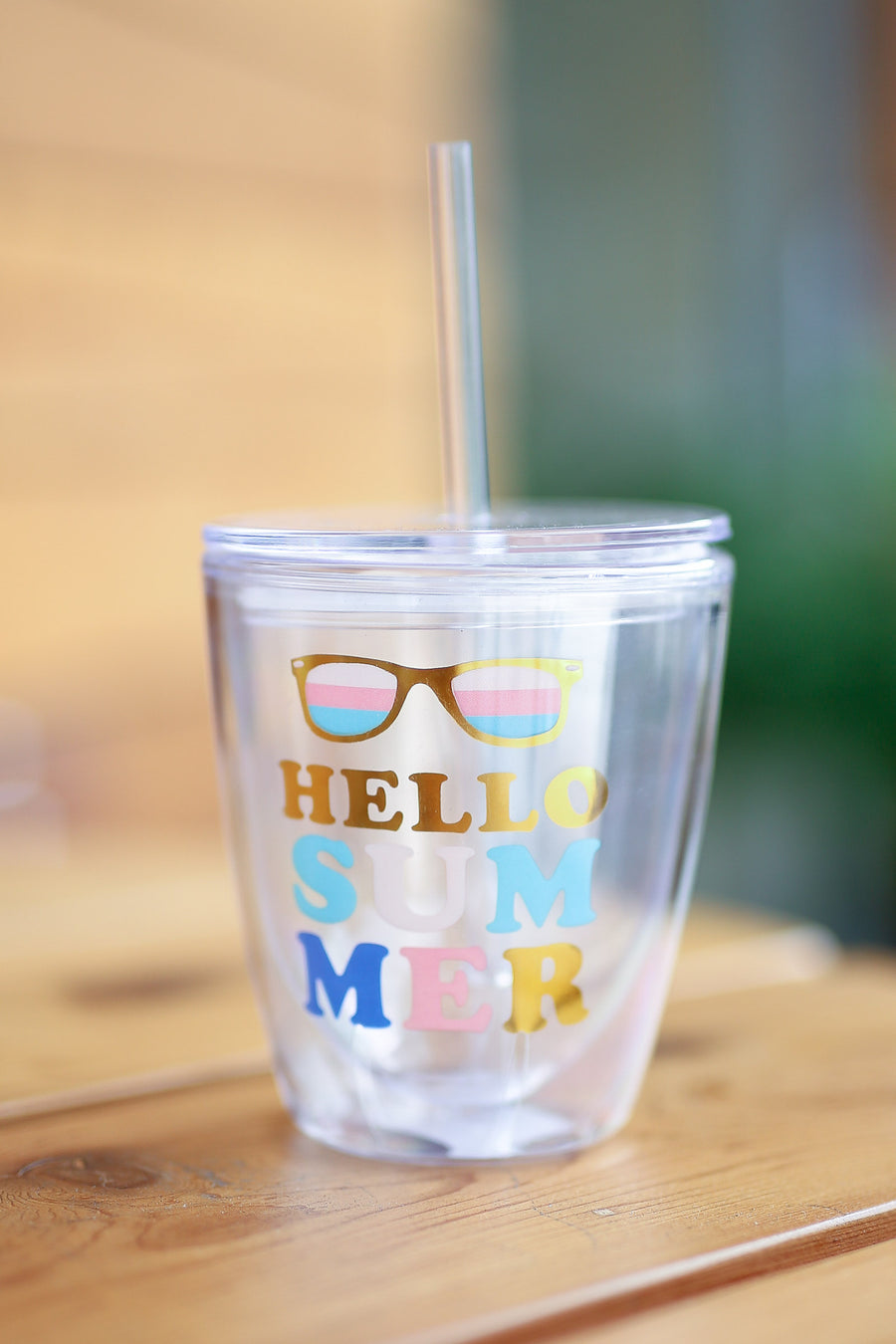 Hello Summer Tumbler closet candy boutique