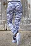 Inactive Duty Jogger Pants - camo lounge jogger pants, back view, Closet Candy Boutique
