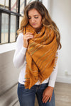 Top It Off Blanket Scarf - Camel closet candy boutique women's scarves