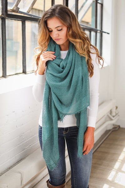 Chill in the Air Scarves - cute knit scarf, Closet Candy Boutique
