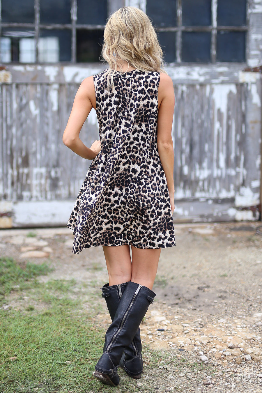 Something Just Like This Dress - Leopard