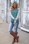Judy Blue Distressed Skinny Jeans - faded wash distressed mid rise jeans, outfit view, Closet Candy Boutique 5