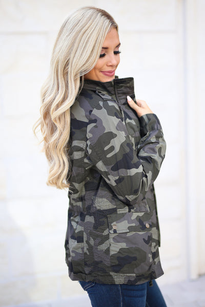 Rise & Grind Camo Cargo Jacket, fall staple, trendy outerwear, closet candy boutique 4