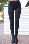 Dangerous Woman Distressed Pants - Black distressed pants, street style, Closet Candy Boutique