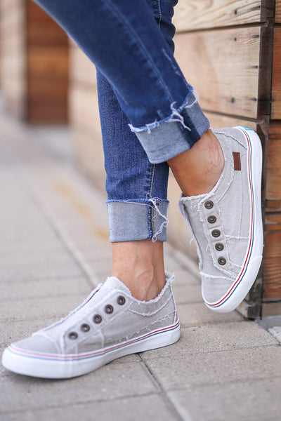 Wherever You Wander Sneakers - Oatmeal canvas casual sneakers Closet Candy Boutique 4