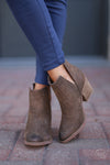 Go West Booties - Tan