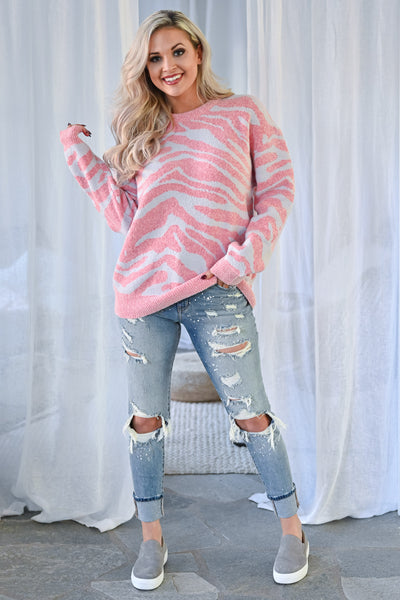 KAN CAN Jenna Distressed Skinny Jeans - Light Wash womens trendy paint splatter high rise distressed denim closet candy outfit 1