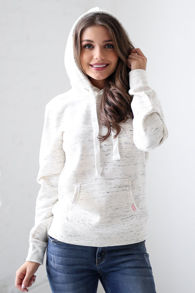 Make Yourself At Home Hoodie - cute oatmeal hoodie, front, Closet Candy Boutique