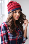 Below Freezing Two Tone Beanies women's hats, closet candy boutique 2