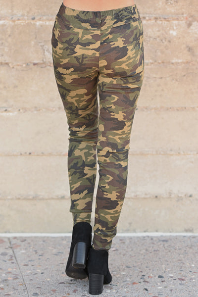 Best Kept Secret Camo Pants - camouflage women's moto pants, closet candy boutique 4