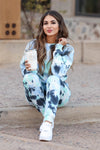Hit The Road Tie Dye Loungewear - Blue Skies closet candy 1